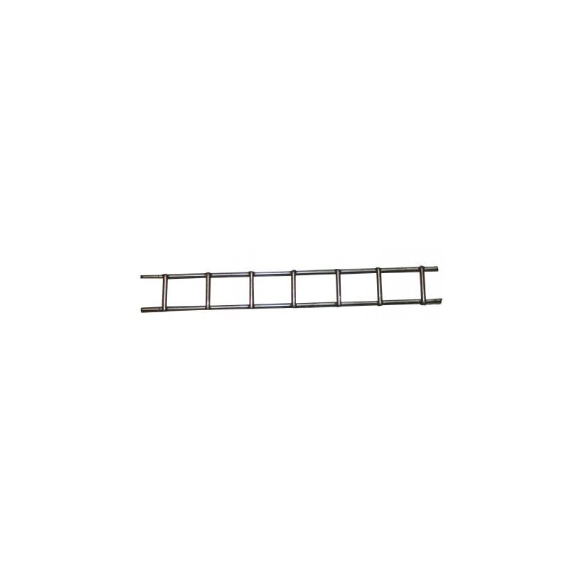 Escalera metalica cromada 7 escalones