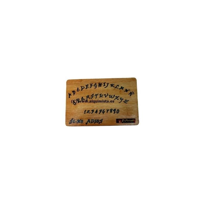 juego OUIJA tablero de madera