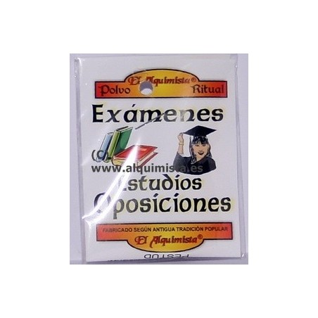 POLVO ESTUDIOS EXAMENES Y OPOSICIONES