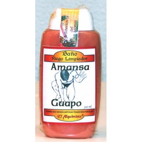Gel de BAÑO AMANSA GUAPO (riego limpiador, despojo)