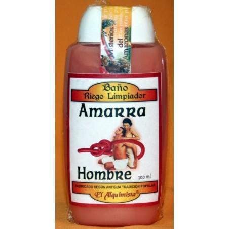 BAÑO AMARRA HOMBRE ( riego limpiador, despojo)