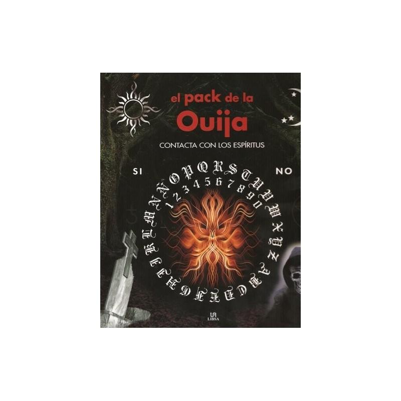 JUEGO OUIJA COMPLETO (Libro y tablero) lib