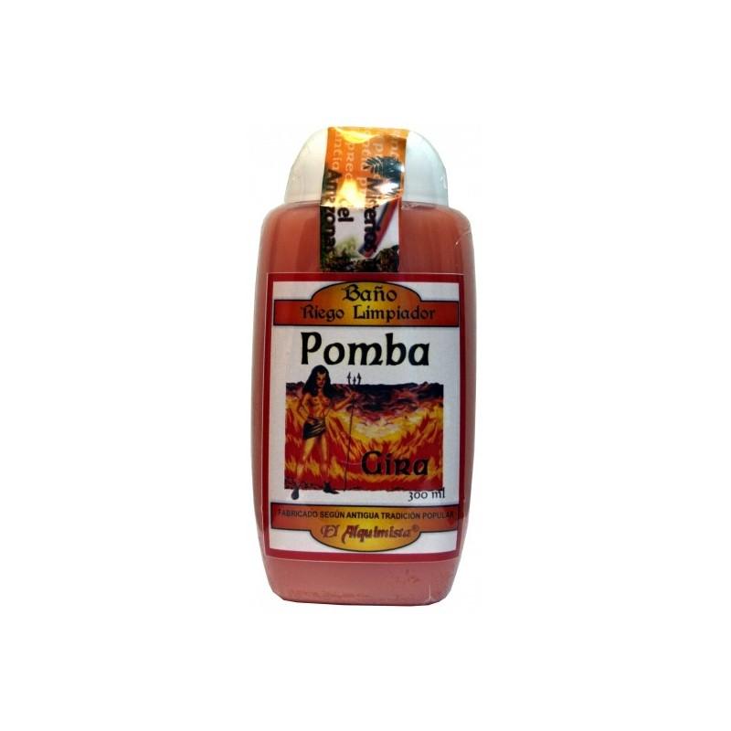Gel de BAÑO POMBA GIRA ( atrae la fuerza, purifica)