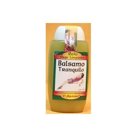 BAÑO BALSAMO TRANQUILO ( riego limpiador, despojo)