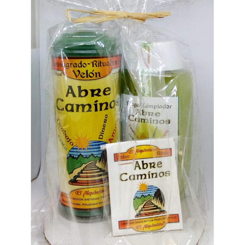 Kit Completo (ritual completo) ABRE CAMINOS