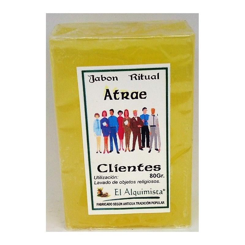 JABON ATRAE CLIENTES