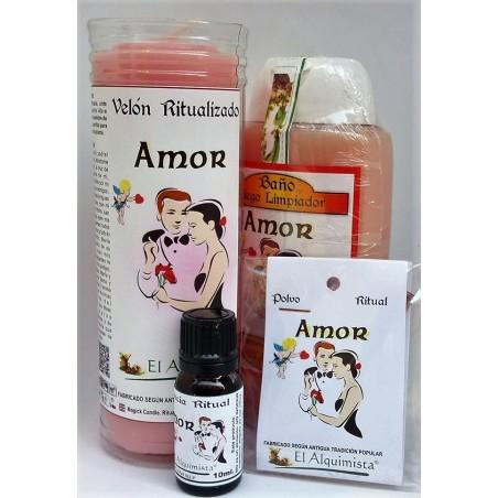 Kit Completo (ritual completo) PARA ATRAER EL AMOR