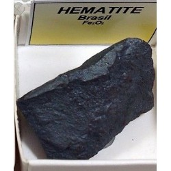 PIEDRA BRUTO HEMATITE cajita 4x4