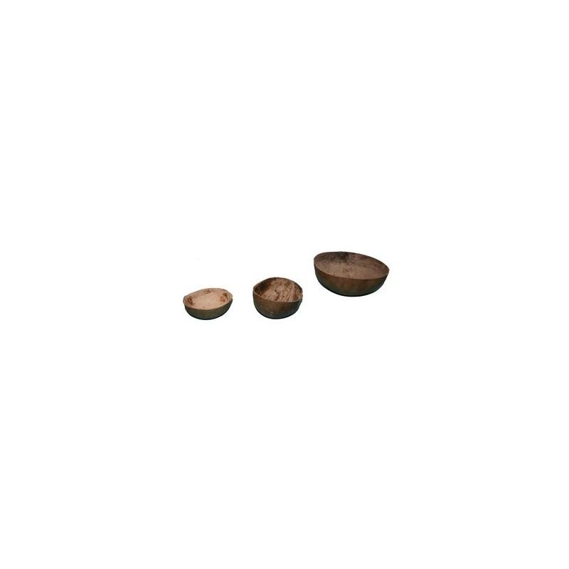 Jicara o Totuma o Igba ( recipiente par ofrendas) medianas gicara