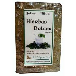 Jabon de HIERBA DULCES (hecho a mano) 100 grm.