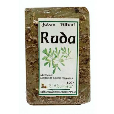 JABON RUDA (corta brujeria) hecho a mano 100 gms.