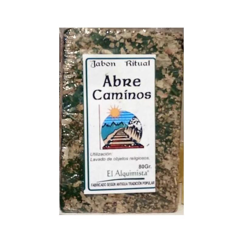 JABON ABRE CAMINOS con hierbas. hecho a mano