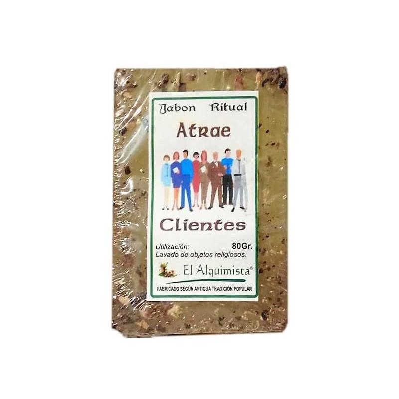 JABON ATRAE CLIENTES con Hierbas 100g.