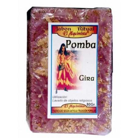 JABON POMBA GIRA ( pompa Gira) hecho a mano con hierbas 100g