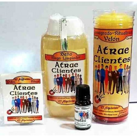 Kit Completo (ritual completo) Atrae Clientes