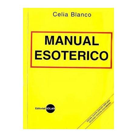 LIBRO Manual esotérico Celia Blanco