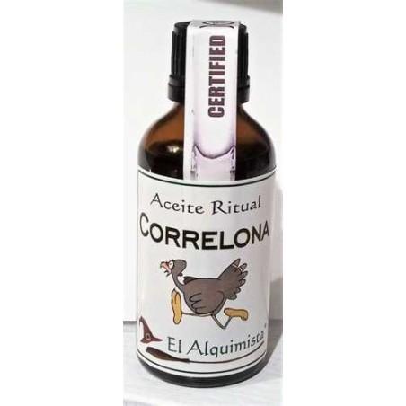 aceite Correlona, para alejar a alguien