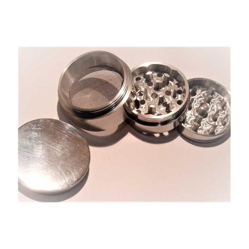 Grinder aluminio para polen ( picadora hecha de 1 sola pieza)