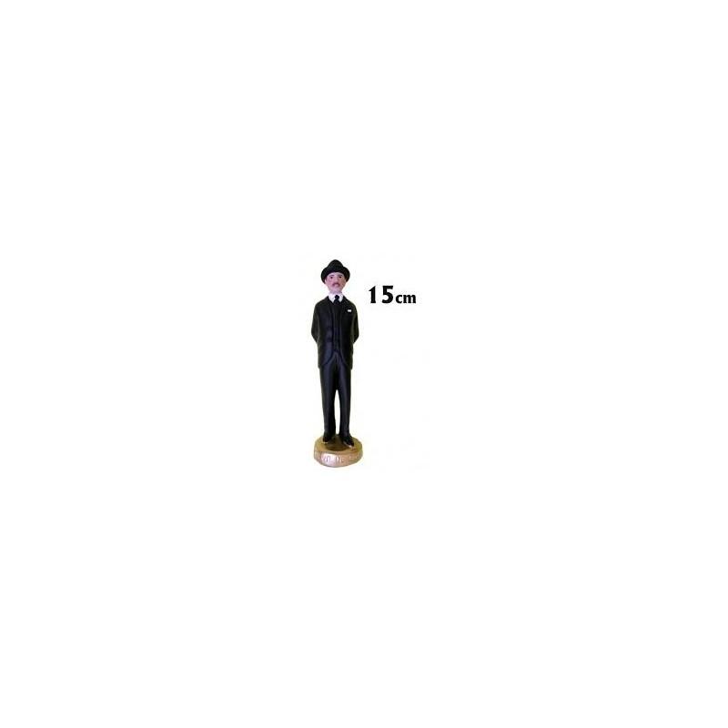 IMAGEN GREGORIO HERNANDEZ 15 cm ( negro ) escayola
