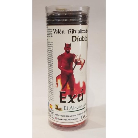 Velon Consagrado Exu, Diablo , para castigar enemigos