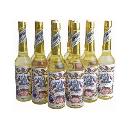 AGUA FLORIDA Pack de 6 Original (Amarilla de Peru) 270 ml