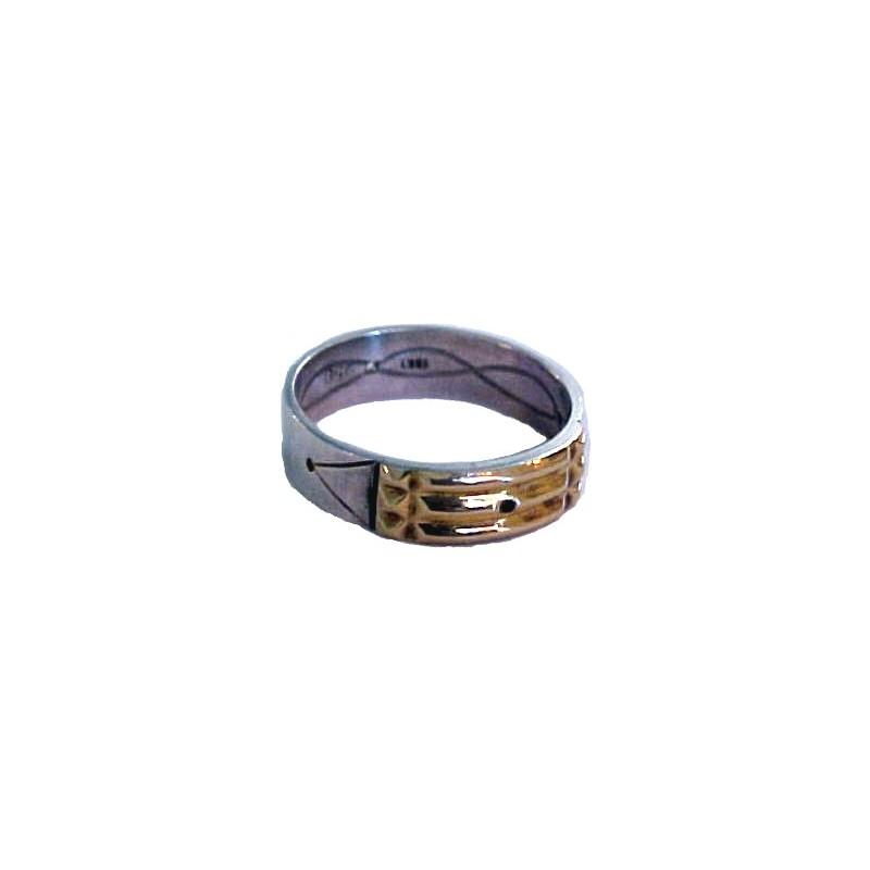 anillo atlante de plata, amluleto de protección
