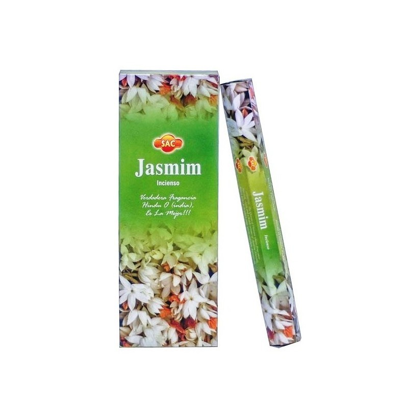 CAJA INCIENSO EN VARITA JAZMIN fabricado en India