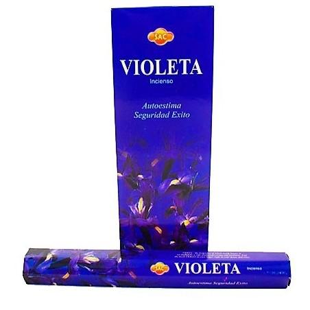 CAJA INCIENSO EN VARITA Violeta