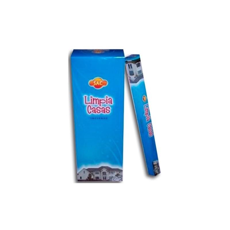 CAJA INCIENSO EN VARITA LIMPIA CASA x 6 paquetes