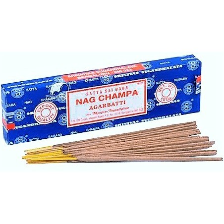 INCIENSO EN VARITA NAG CHAMPA (ORIGINAL) 15gm