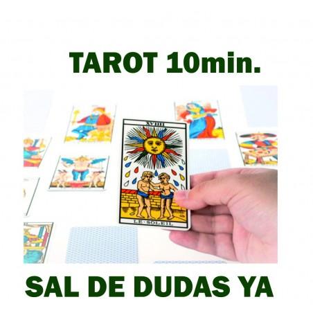 Consulta TAROT Exprés MINUTO (10 Minutos)
