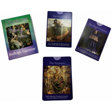 TAROT FAIRY (SUPER OFERTA) bordes plata