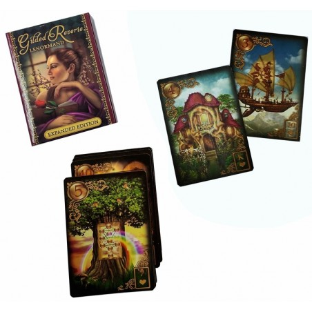 ORACULO LENORMAND Gilded Reviere bordes dorados (SUPER OFERTA)