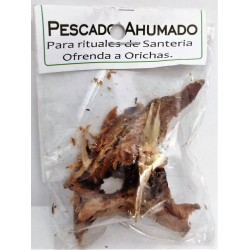 PESCADO AHUMADO Africano, para rituales de Santeria