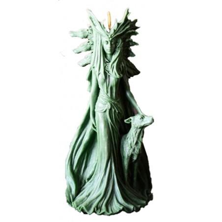 VELAS HECATE Diosa diosa de la Magia, la hechicería y la brujería 25cm
