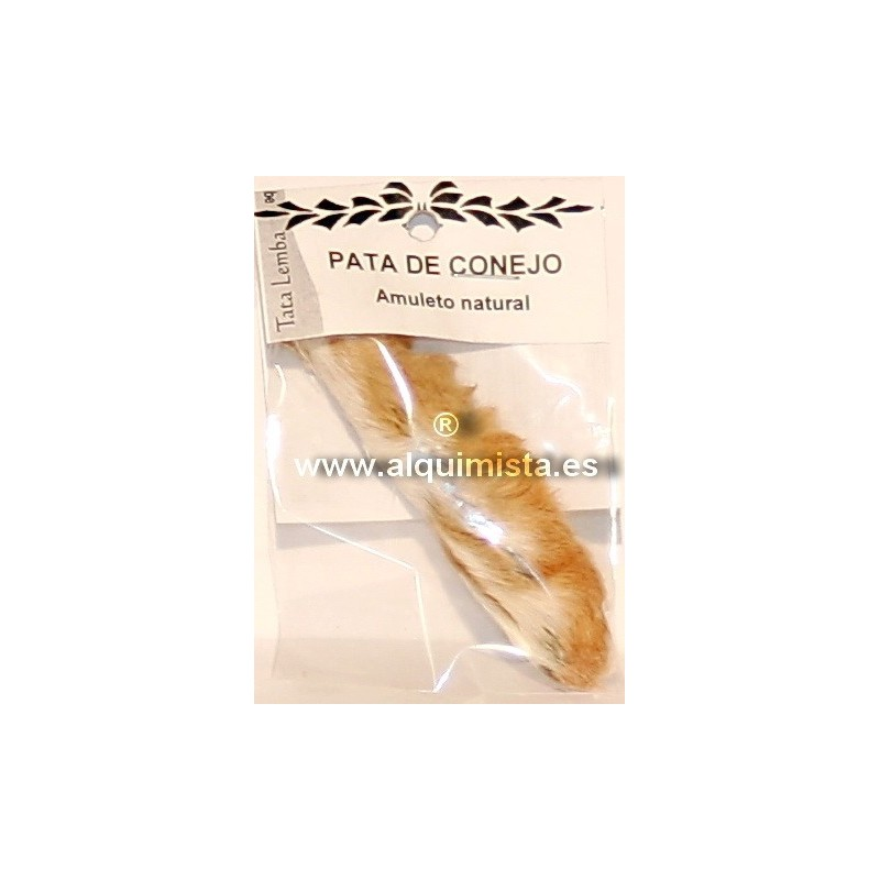 AMULETOS PATA DE CONEJO