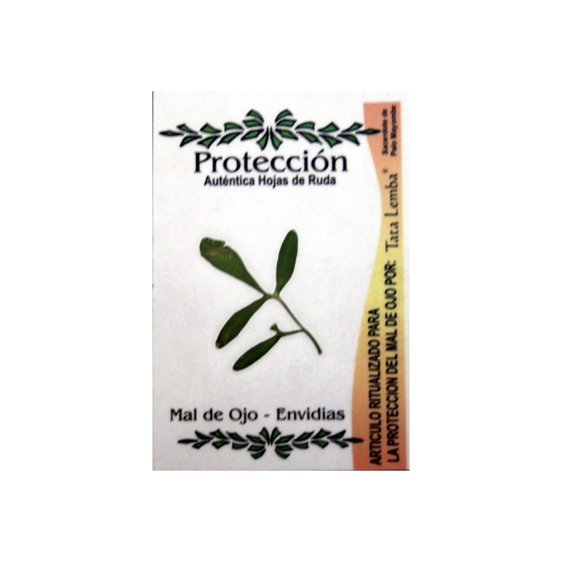 amuleto natural de ruda Proteccion