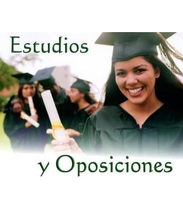 Estudios y opsiciones
